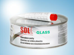 Soll Glass Finishing Putty For Small Areas Easy To Grind Green 1kg 35 27oz