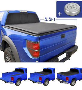 Jdmspeed Roll Up Soft Tonneau Cover For 2004 2018 Ford F 150 5 5 Short Bed
