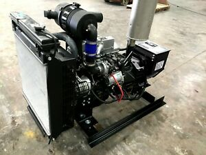 25 Kw Diesel Generator Kubota New For Foam Rig Mobile Application 1 Or 3 Phase