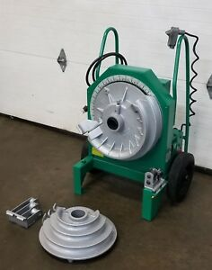 Greenlee 555 Electric Pipe Bender 1 2 2 Inch Works Great
