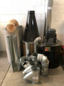 Tempest Cyclone Dust Collection System Model 1425s
