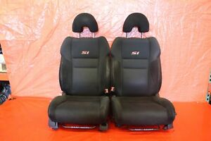 2007 Honda Civic Si Coupe Fg2 K20z3 Factory Lh Rh Front Seat Pair wear 9251