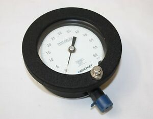 Ashcroft Test Gauge Temperature Compensated Grade 3a 0 60 Psi ref F