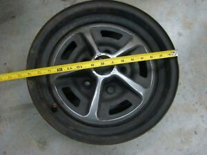 69 70 Chevelle Ss Rally Wheel 7 Inch Width 14 Inch Wheel Free Shipping