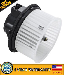 Heater Blower Motor With Fan 89019320 For Cadillac Escalade Chevy Gmc Brand New