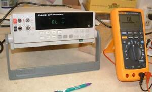 Fluke 45 Dual Display Bench Top Multi meter