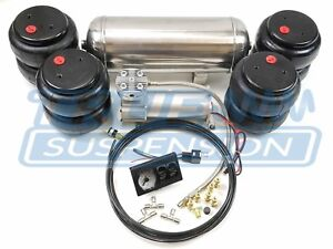 Complete Universal Air Ride Suspension System Kit 2600 D2