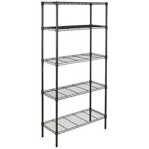 Home Kitchen Garage Wire Shelving 5 Layer Tier Storage Rack Unit Shelves Metal