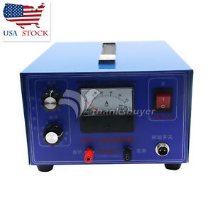 400w 50a Jewelry Laser Welding Machine Mini Spot Welder Gold Silver 110 Us