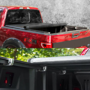 Lock Soft Roll Up Tonneau Cover For 2004 2014 Ford F 150 With 6 5 78 Bed