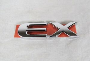 Honda Civic Ex Coupe Emblem 01 05 Back Trunk New Genuine Oem Badge Sign Symbol