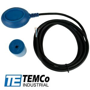 Temco Float Switch For Sump Pump Water Level No nc Control Function 13ft Cord