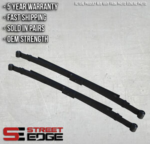 Street Edge 02 06 Dodge Ram Regular Cab 1500 2wd 3 5 Lowering Leaf Spring Set