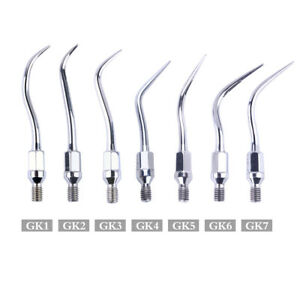 Dental Ultrasonic Scaler Tips Gk1 Gk7 For Kavo Air Scaler Scaling Handpiece