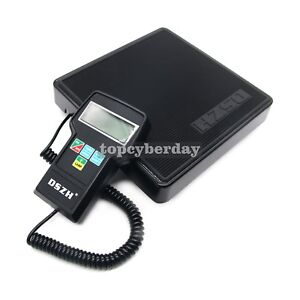 220lb Digital Hvac Refrigerant Charging Weighing Weight Electronic Scale Case