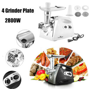 Electric 2800w Meat Grinder Home Mincing Machine Sausage Stuffer Maker Oy