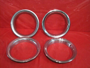 1970 1981 Pontiac Firebird Trans Am 15 Ralley Wheel Trim Rings