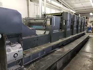 1994 Heidelberg Sm 102fp H L With Tower Coater Cpc Console Cp Tronics