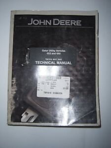 John Deere Gator Tech Manual Tm1518