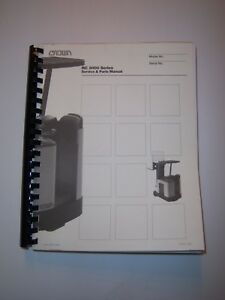 Crown Forklift Rc 3000 Service And Parts Manual