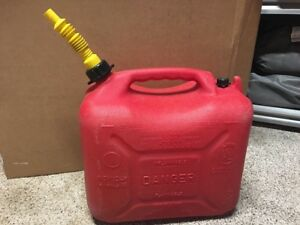 Wedco 5 Gallon Jerry Gas Can Flex Nozzle Spout Pre Ban Vented