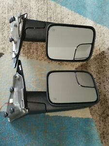 2002 08 Dodge Ram 1500 03 09 2500 3500 Tow Mirrors Power Heated Led Signals Pair