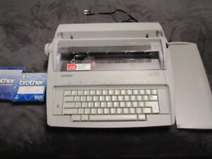 Brother Gx 6750 Daisywheel Portable Electric Typewriter Immaculate Condition