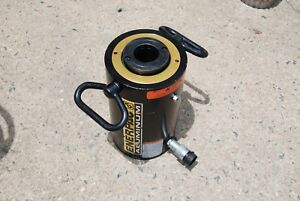 Enerpac Rach 604 60ton Hydraulic Hollow Cylinder 4 Stroke Aluminum New