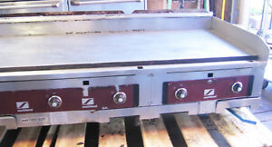 Southbend 60 Inch 5 Foot Wide Gas Counter table Top Thermostatic Grill Griddle