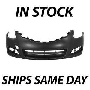 New Primered Front Bumper Cover Replacement For 2010 2013 Nissan Altima Coupe