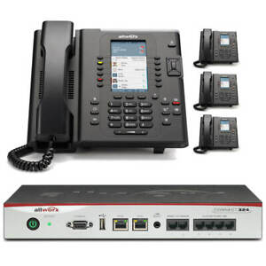 Allworx Connect 324 Business Phone System With 4 Color Display Verge Ip Phones