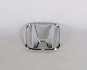 01 05 Honda Civic Trunk Emblem Back Genuine Oem Chrome H Badge Sign Symbol Logo