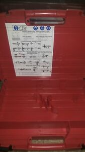Hilti Dx 460 Powder Actuated Gun Plastic Case New Others