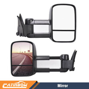 Left right Power Tow Mirrors Pickup Truck For Chevrolet Gmc C10 C k1500 1988 98