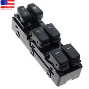 Front Left Driver Power Window Switch For Hyundai Sonata 93570 3s000 2011 2015