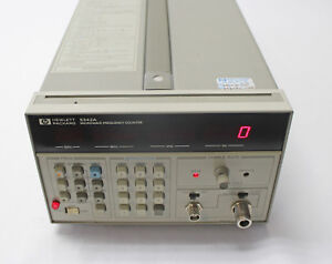 Hp 5342a Microwave Frequency Counter 10hz To 18ghz With Power Cord