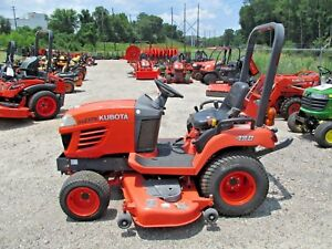 2010 Kubota Bx2350 4wd Tractor W 60 Belly Deck Turf Tires 120hrs