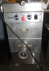 Used Hobart 4246 140lb Meat Grinder Mixer Free Standing 208 Volts 3 Phase