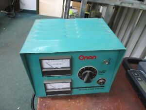 Onan Battery Float Charger 5 00305 0346 Input 120 208 240vac 60hz 235w Used