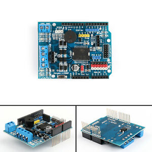 L298p Dc Motor Driver Shield Module 2a H bridge 2 Way For Arduino Uno Mega2560