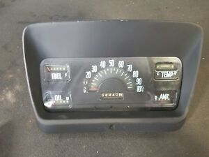 Classic Vintage 1959 International Instrument Gauge Cluster Speedometer