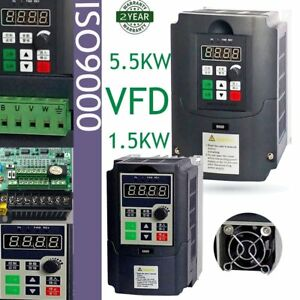Variable Frequency Drive Inverter Vfd 5 5kw 1 5kw 200v Ac Motor Water Pump Oy