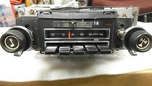 1970 70 71 72 Camaro Chevelle Nova Am Fm 4 speaker Yellow Dot Radio Serviced