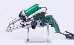 220v Handheld Plastic Extruder Hot Air Gun Pe pp Extrusion Welder Lst600a