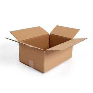 25 Pack Moving Packing Shipping Mailing Storage Cardboard Boxes 14 x10 x6 Box
