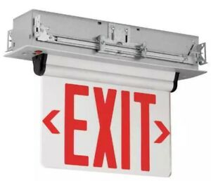 Hubbell Lighting Compass Led Exit Sign emergency Lights Ccrrc