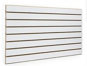 2 2 X 4 White Color Slatwall Panels