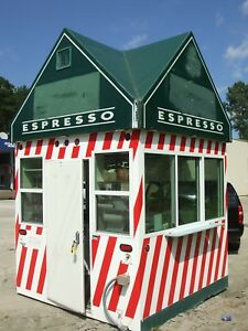 Concession Trailer Hydraulic Lowering 8x8 Food Vending Trailer