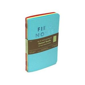 Field Notes Sweet Tooth Special Edition Blank Perforated Memo Books 3 pack