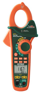 Extech Ex623 400a Dual Inp Ac dc Clamp Meter Ncv Ir Thermometer Multimeter